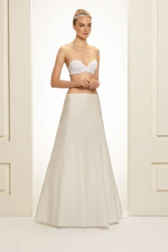 Bridal petticoat without hoops in ivory